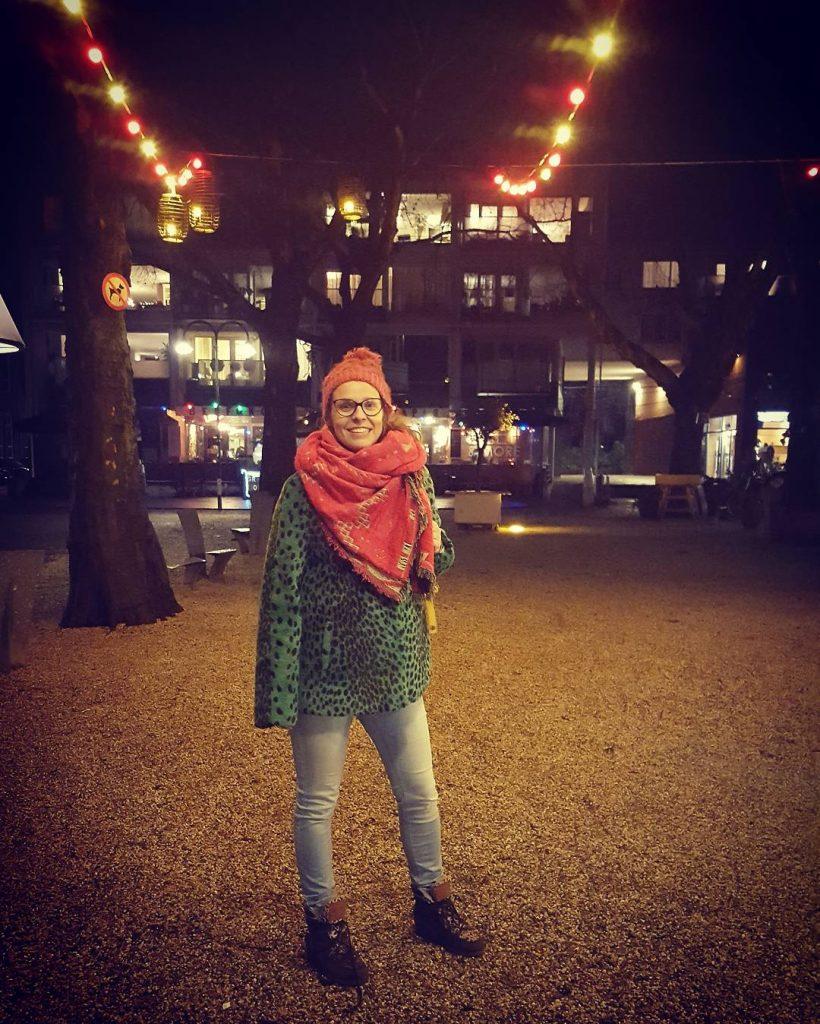 Delft centrum winter