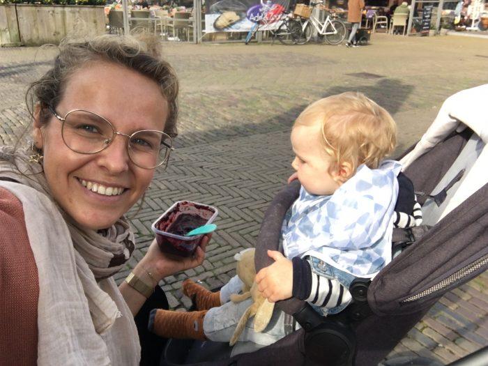 Aciviteit in Delft met je dreumes