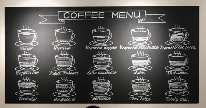 Koffie tentjes in Delft