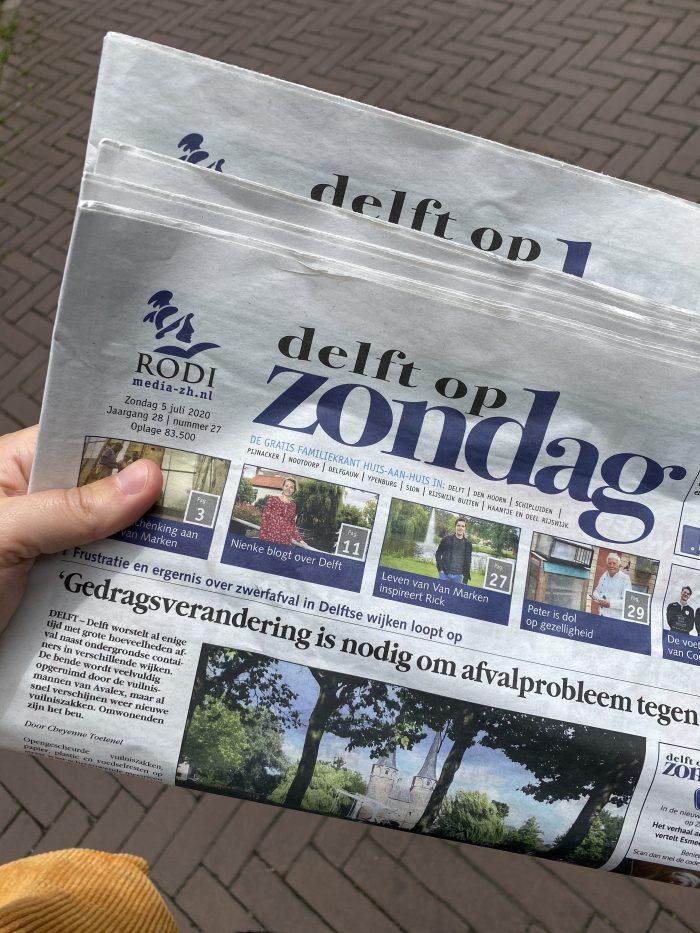 Delft op zondag