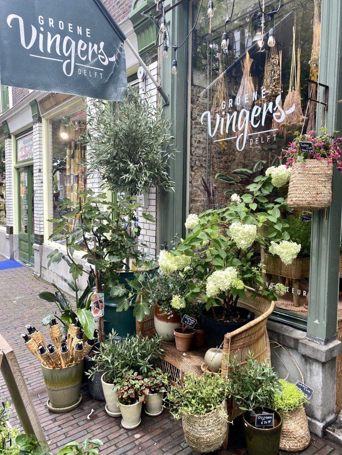 Delft winkelen