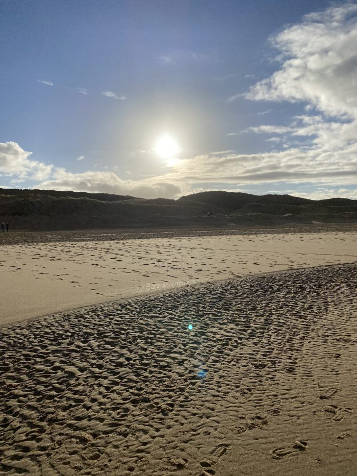 wandelen strand